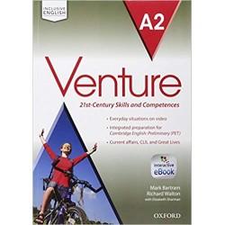 Venture A2 Student's Book &...