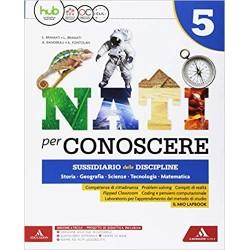 NATI PER CONOSCERE 5 Vol....
