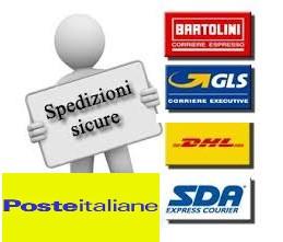 Spedizioni sicure e veloci con Poste Italiane - SDA - GLS - BRT